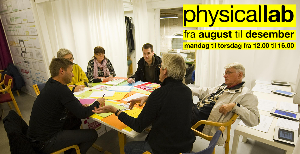 Physical Lab: come and meet us!