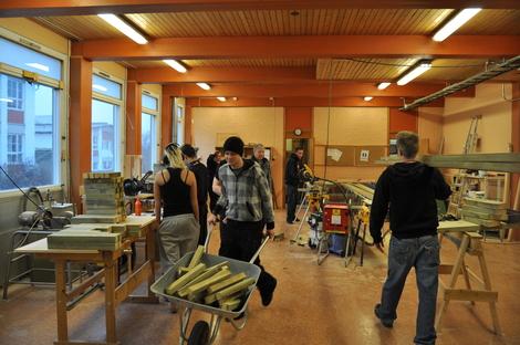 Ungdom i farta - carpentry